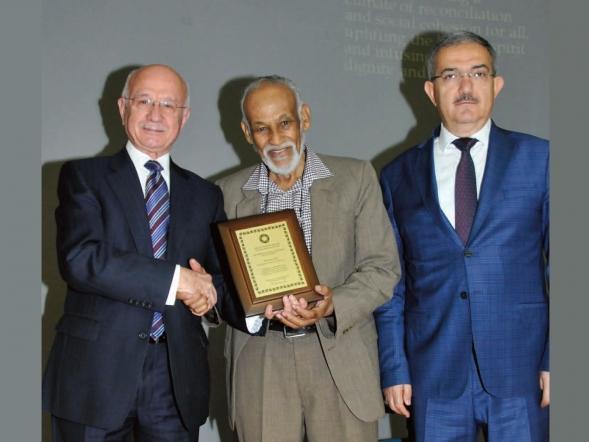 AMSS UK 2016 Lifetime Achievement Award formally presented to//Professor Malik Badri