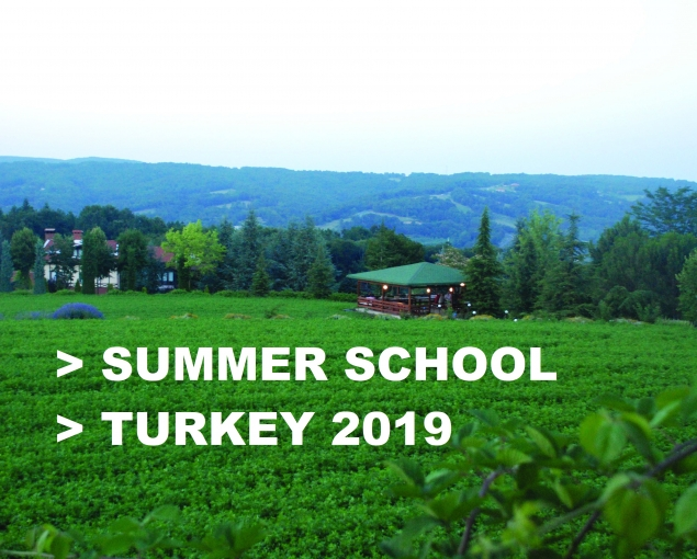 Summer School - Turkey 2019